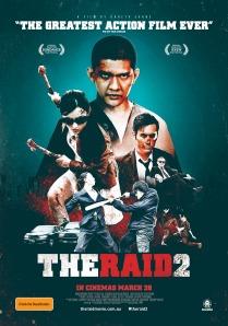 Raid 2 oz poster