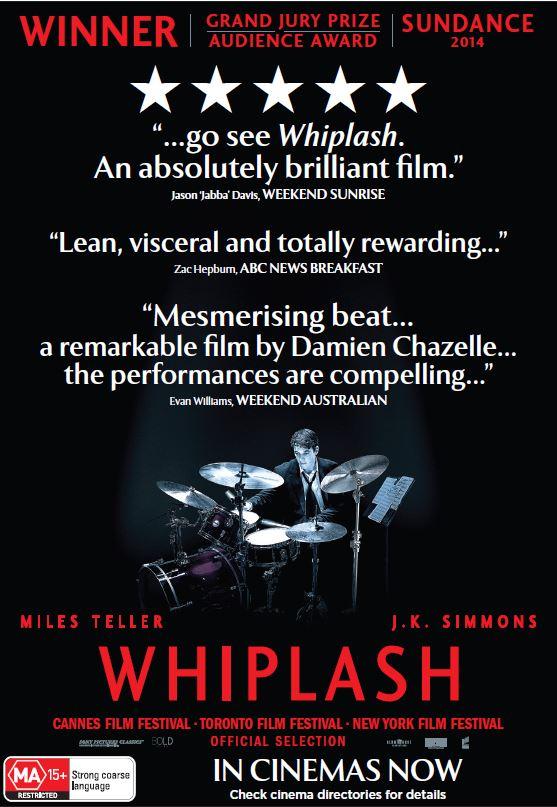 Whiplash 2 11 14 Sun Herald - Sun Age
