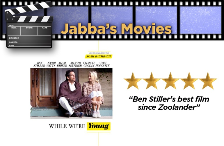 WHILE WE'RE YOUNG RATING