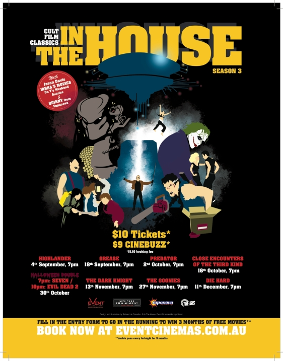 InTheHouse S3 Empire FP Ad