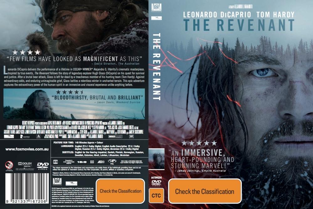 Revenant DVD 2