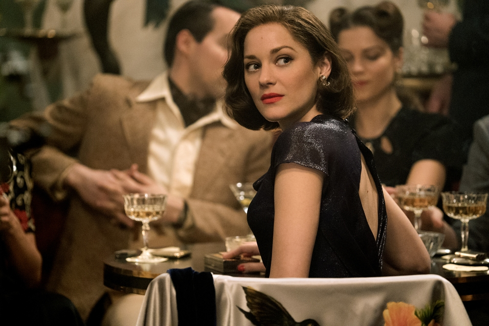 Marion Cotillard plays Marianne Beausejour in Allied from Paramount Pictures.