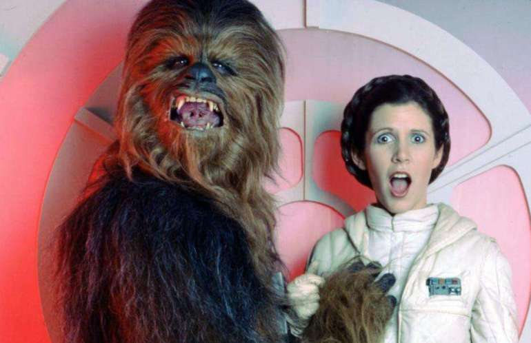 One of them is a Princess. One of them is also Han Solo's lover...