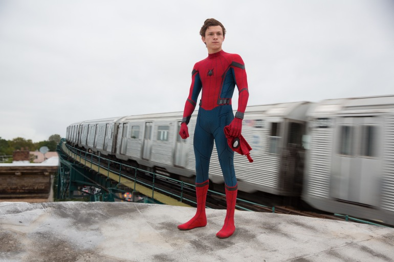 Tom Holland is Spider-Man in Columbia Pictures' SPIDER-MAN: HOMECOMING.