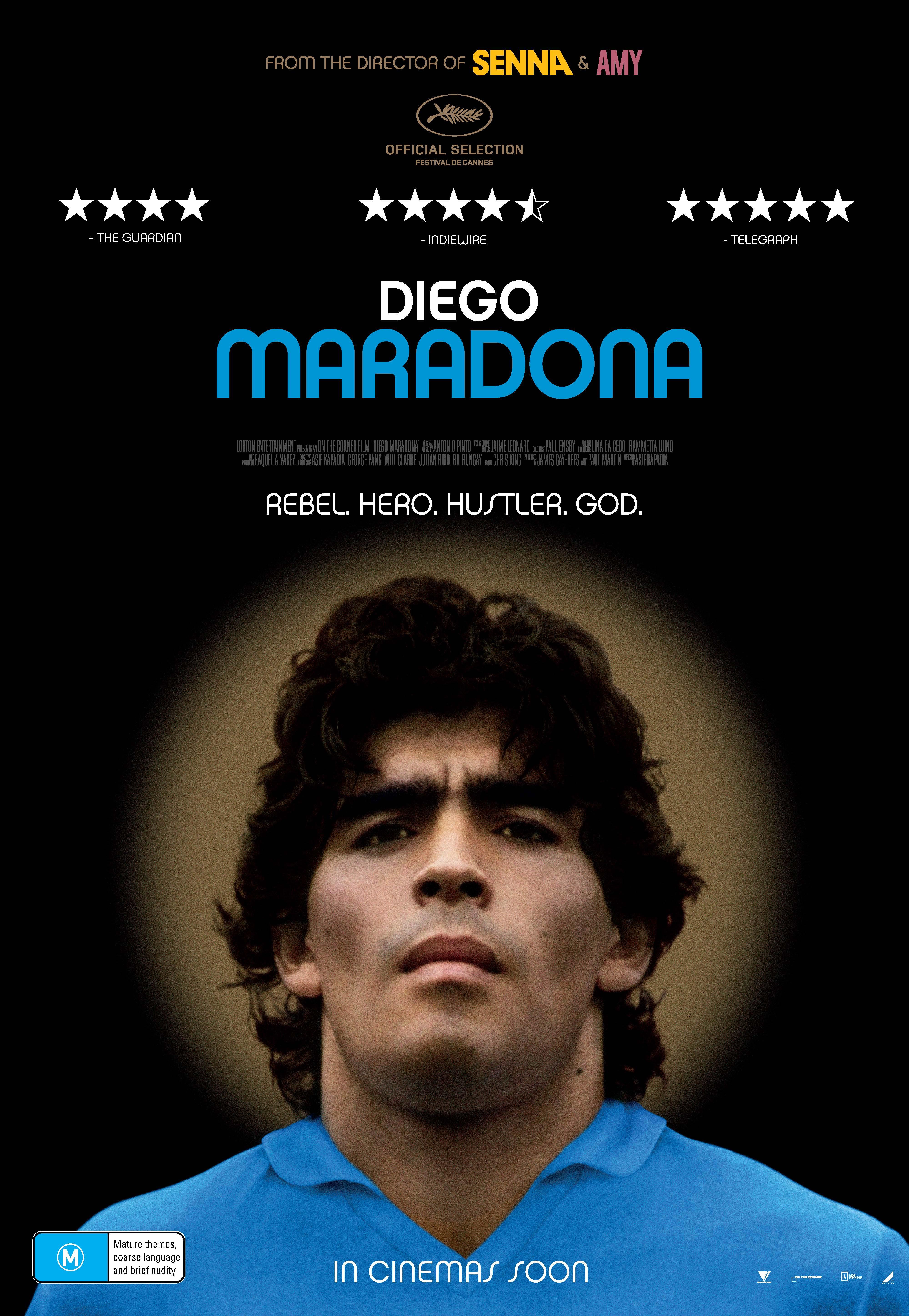 """Diego Maradona – Film Review – Jason """"Jabba"""" Davis"""